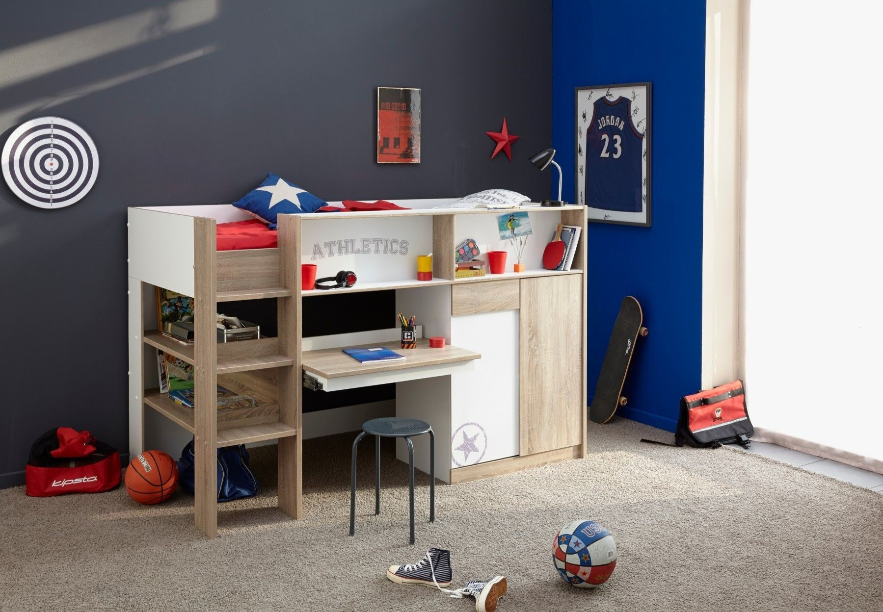Lit Superposé Bois Meilleur De Délicieux Chambre Enfant Lit Superposé  Lit Superposé Avec Bureau