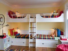 Lit Superposé Double Impressionnant 458 Best Bunk Rooms Images