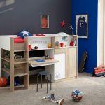 Lit Superposé En Bois Élégant Délicieux Chambre Enfant Lit Superposé  Lit Superposé Avec Bureau