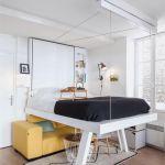 Lit Superposé Escamotable Charmant Rusé Lit Canapé Escamotable Sur 100 Elegant Lit Rabattable Avec