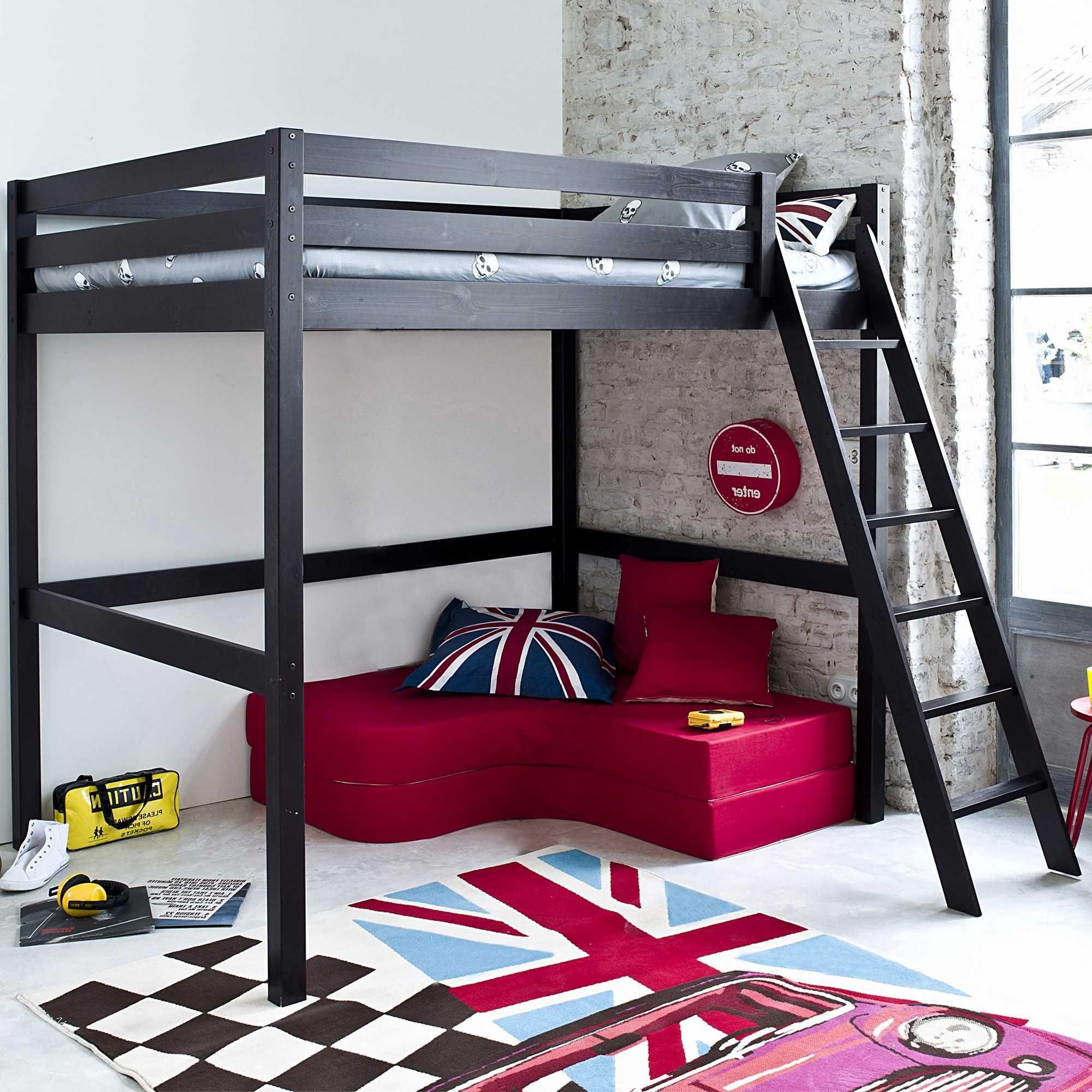 Lit Superposé Gain De Place Fraîche attrayant Chambre Enfant Lit Superposé Et Canapé Lit Gain De Place