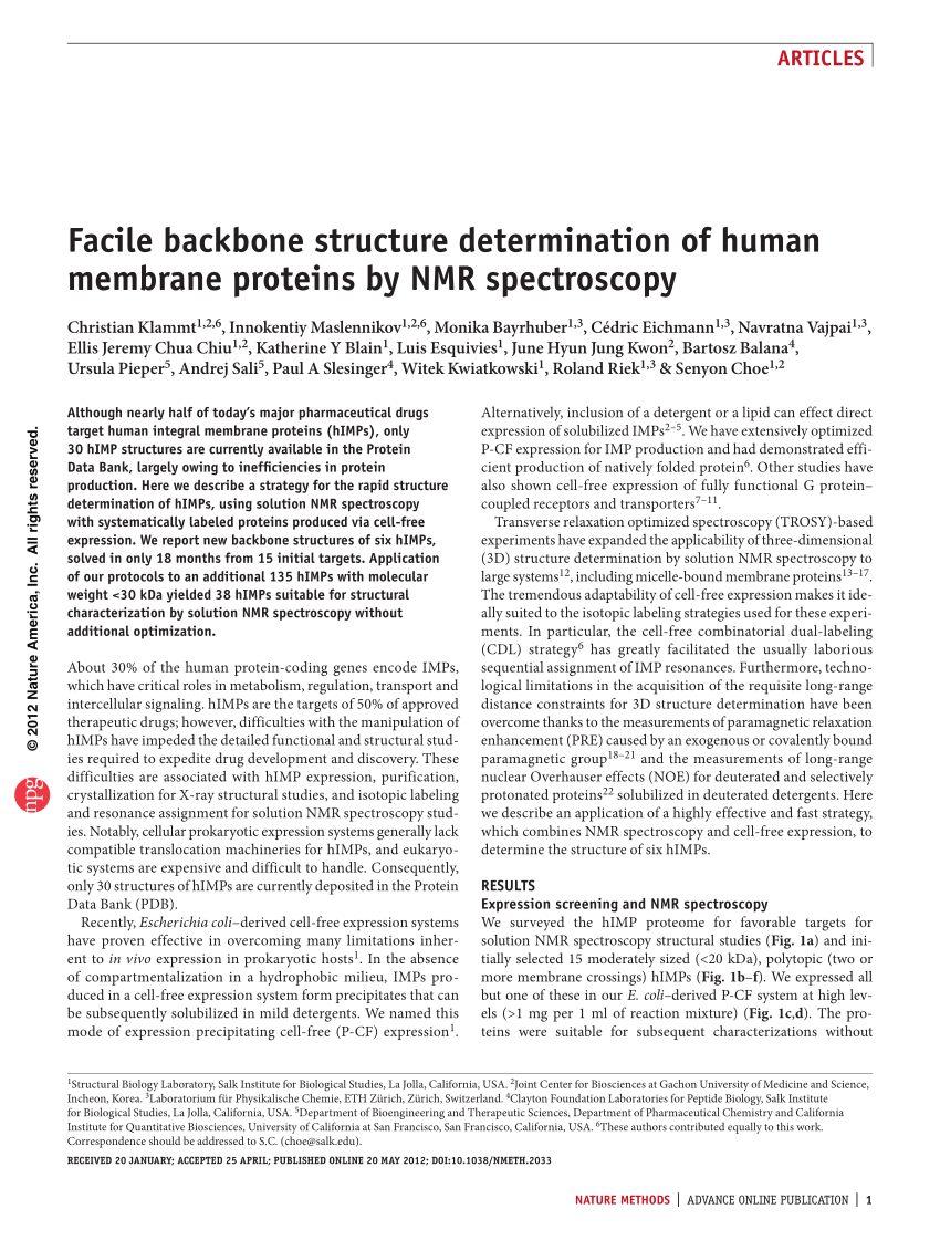Lit Superposé Gautier Le Luxe Pdf Facile Backbone Structure Determination Of Human Membrane