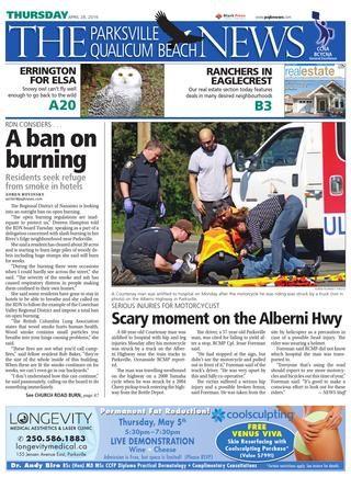 Parksville Qualicum Beach News April 28 2016 by Black Press issuu