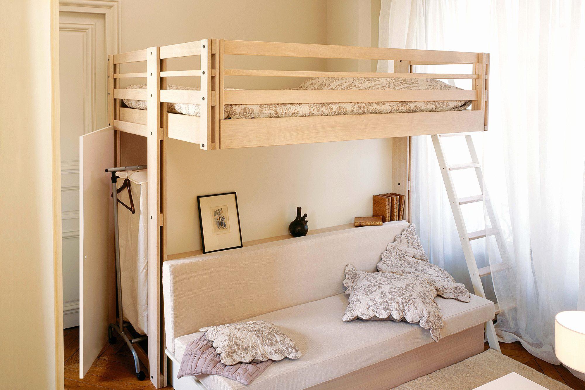 Lit Superposé Ikea 3 Places Le Luxe Lit Superposé Fille Génial Merveilleux Chambre B Fille Deco Gris Et