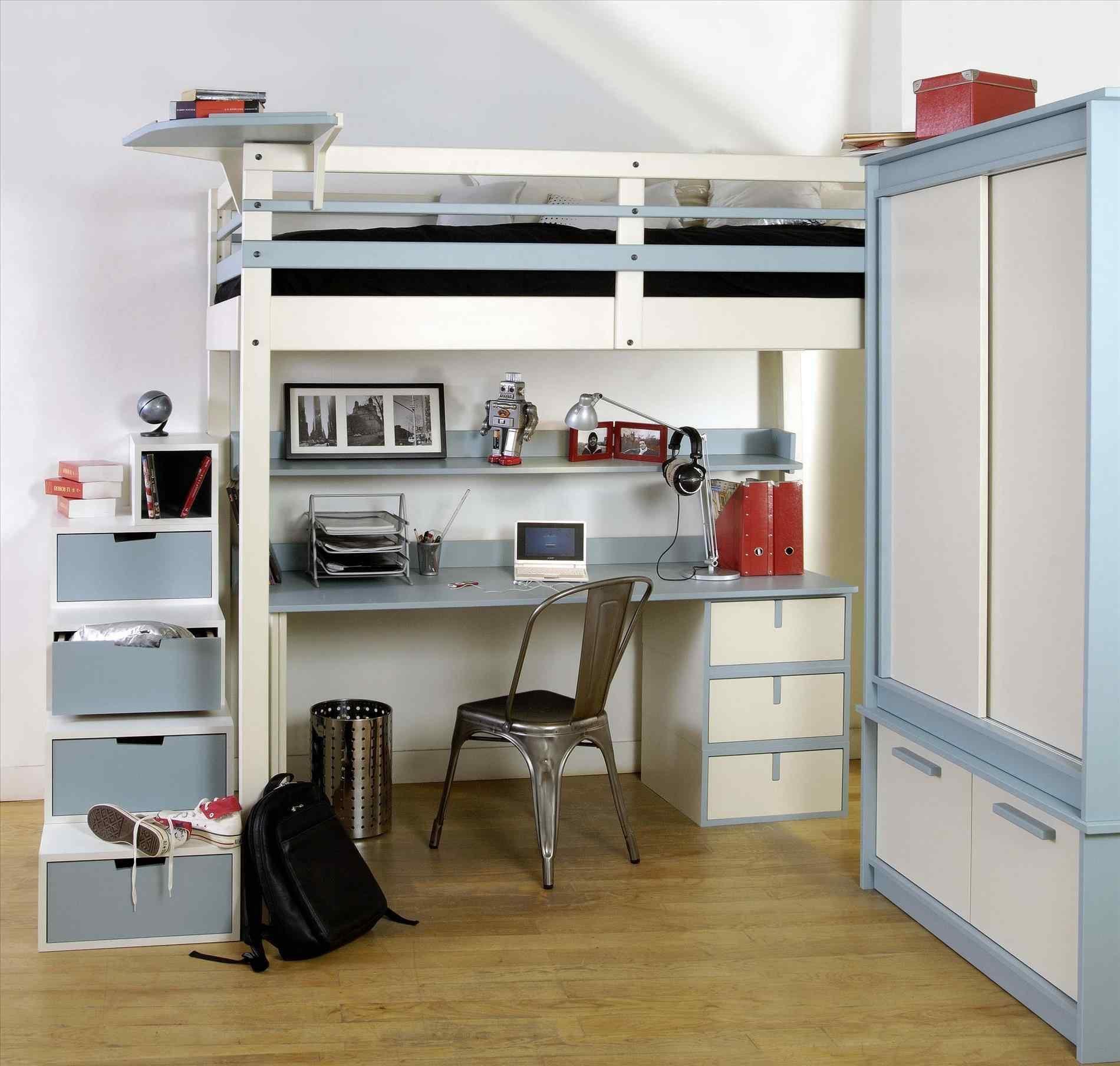 Lit Superposé Pas Cher Le Luxe Bureau Echelle Ikea