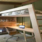 Lit Superposé Petit Espace Nouveau Lit Mezzanine Pour Adulte