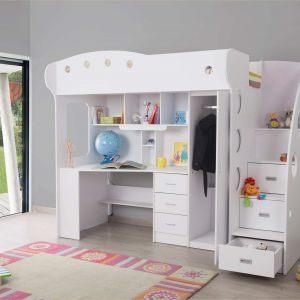 Lit Superposé Pin Joli Favori Lit Mezzanine Design – Ccfd Cd