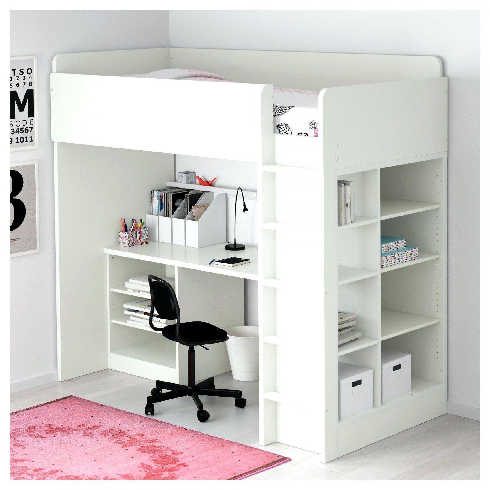 Lit Superposé Pour Fille Luxe Lit Mezzanine Avec Bureau Ikea