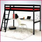 Lit Superposé Rangement Charmant Lit Mezzanine Bureau Armoire Lit Mezzanine Avec Bureau Lit Mezzanine