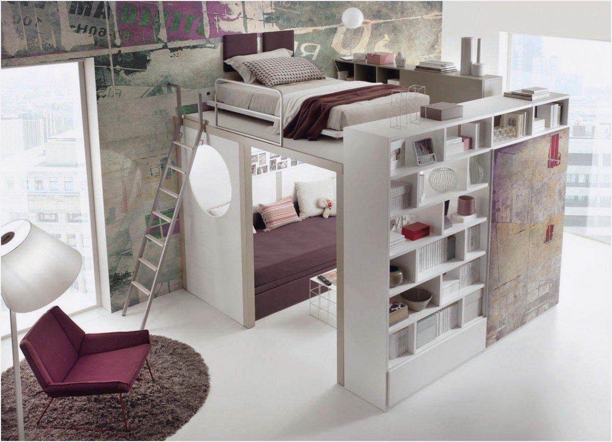 Lit Superposé Separable Unique Mezzanine Avec Bureau Et Armoire