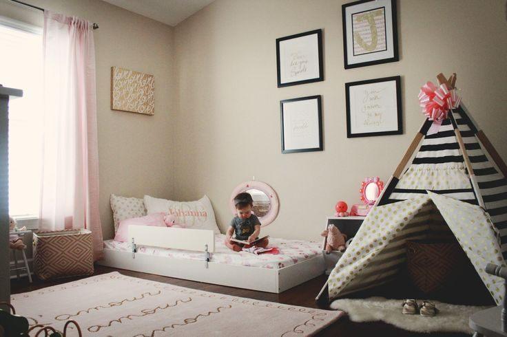Lit Tipi Enfant Joli En Busca De Una Cama Montessori Baby Pinterest