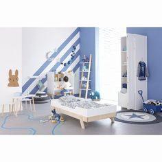 Lit toboggan Enfant Fraîche Lit Mezzanine toboggan Unique Lit Avec Escalier Rangement Rangement