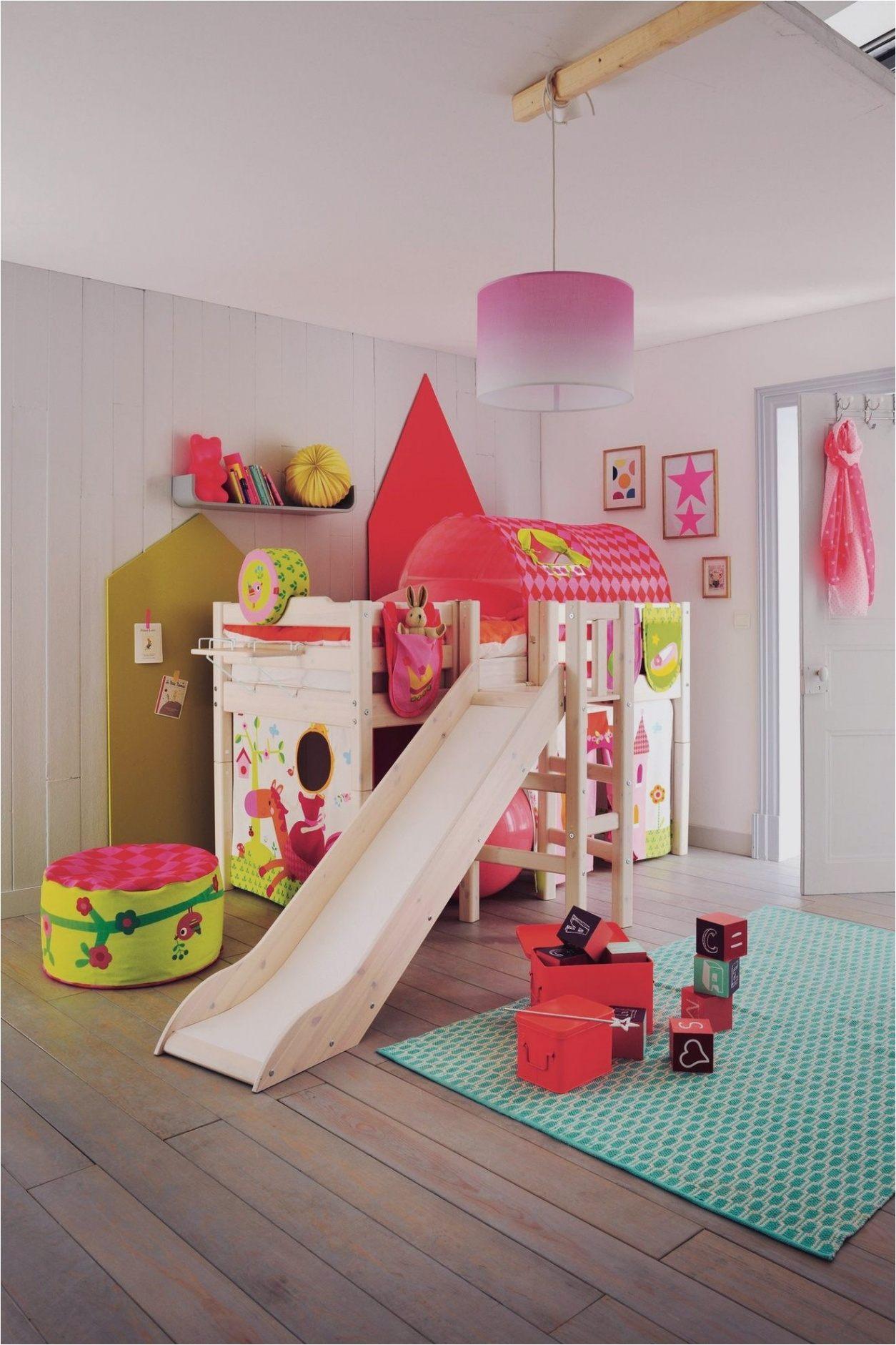 Lit toboggan Enfant Unique Chambre Enfant original — Mikea Galerie