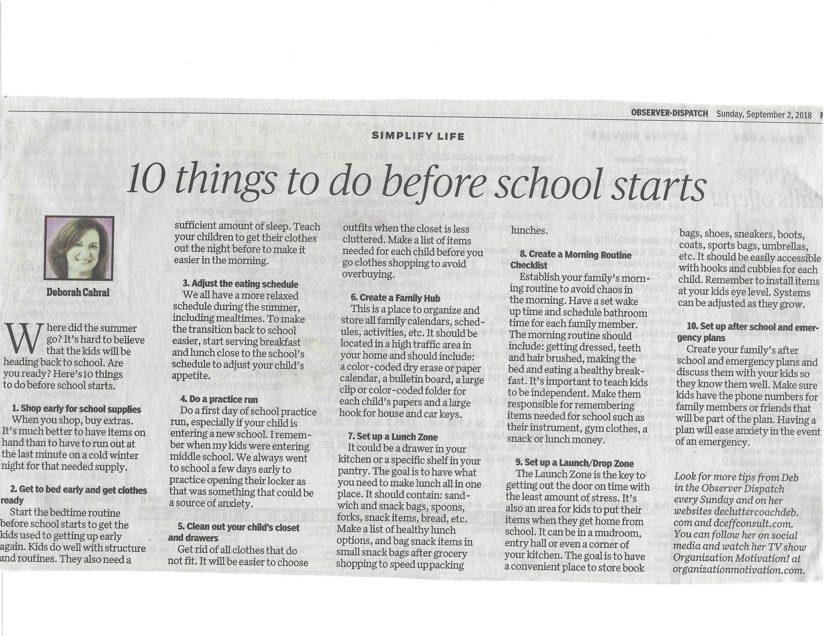 Lit Trois Place Le Luxe Utica Ny Od Column Archives Page 3 Of 21 the Declutter Coach