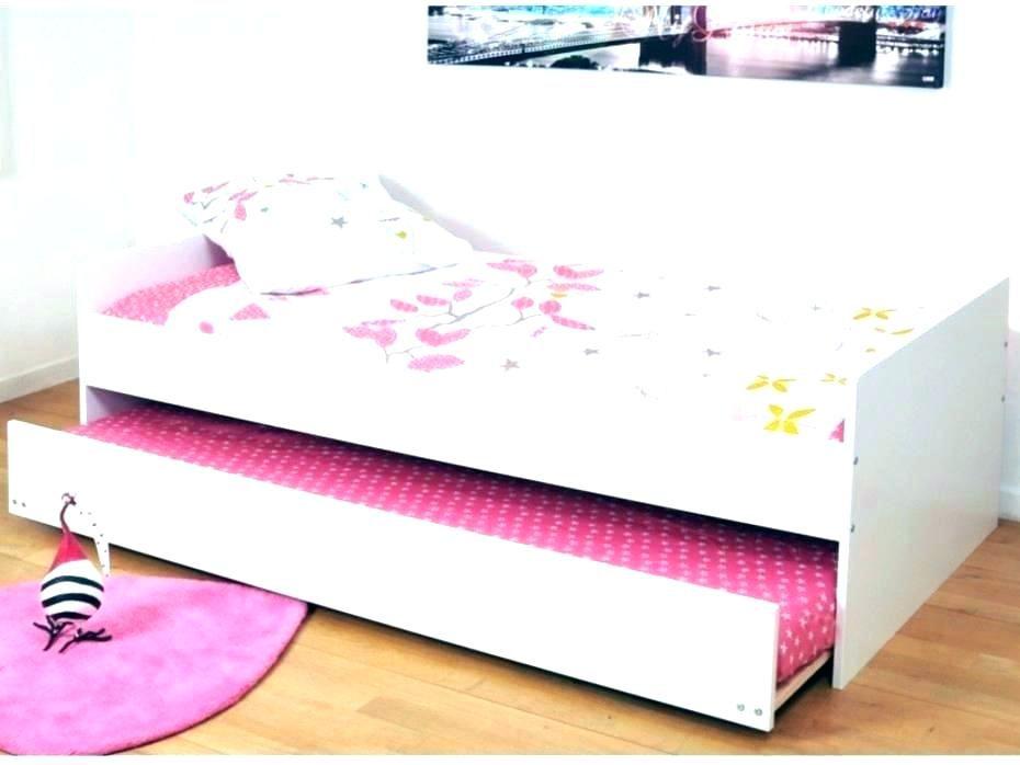 Lit Une Place Avec Tiroir Beau Lit 2 Places Blanc Laque Lit Led Maria 140 X 190 Cm Blanc – Famfgfo