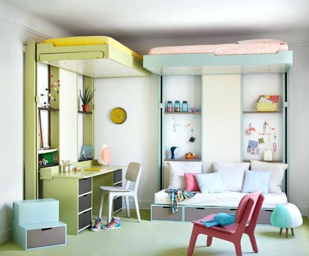 Lit Une Place Enfant Génial Lit Double Gain De Place – Familyliveson