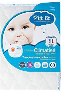 Matelas P Tit Lit Beau P Tit Lit Matelas Bébé Ventilé 60 X 120 X 12 Cm Ultra Ventilé