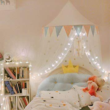 Moustiquaire Lit 2 Places Meilleur De 165x100x60cm Coton Ciel De Lit Avec Moustiquaire Bebe Fille