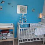 Moustiquaire Lit Bébé Bel Chambre Bébé Gris Et Blanc — Laguerredesmots