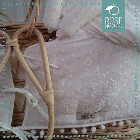 Moustiquaire Lit Enfant Belle Bedding Rose Mandarine Couffin Bébé Houssé Avec Ombrelle Et
