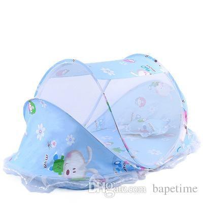 Moustiquaire Lit Enfant Charmant Acheter Moustiquaire Bébé Pliant Avec Coussin De Couchage