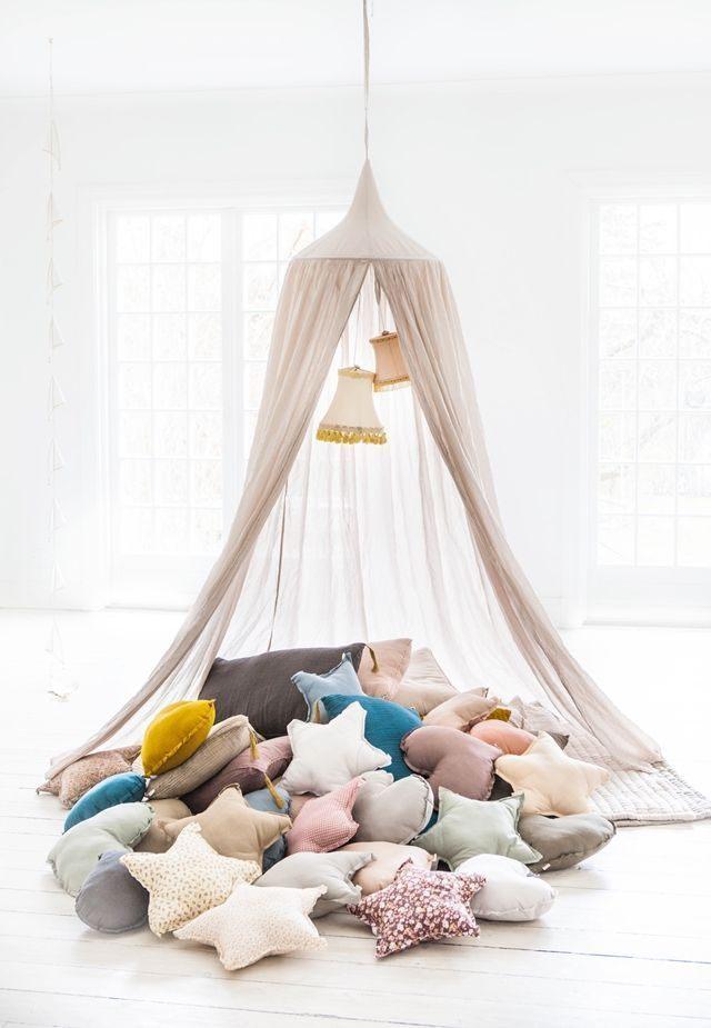 Moustiquaire Lit Enfant Fraîche fort Stars Pinterest