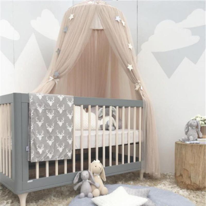 Moustiquaire Lit Enfant Frais Acheter Bébé Lit De Bébé Rideau Doux Princesse Maison Moustiquaire