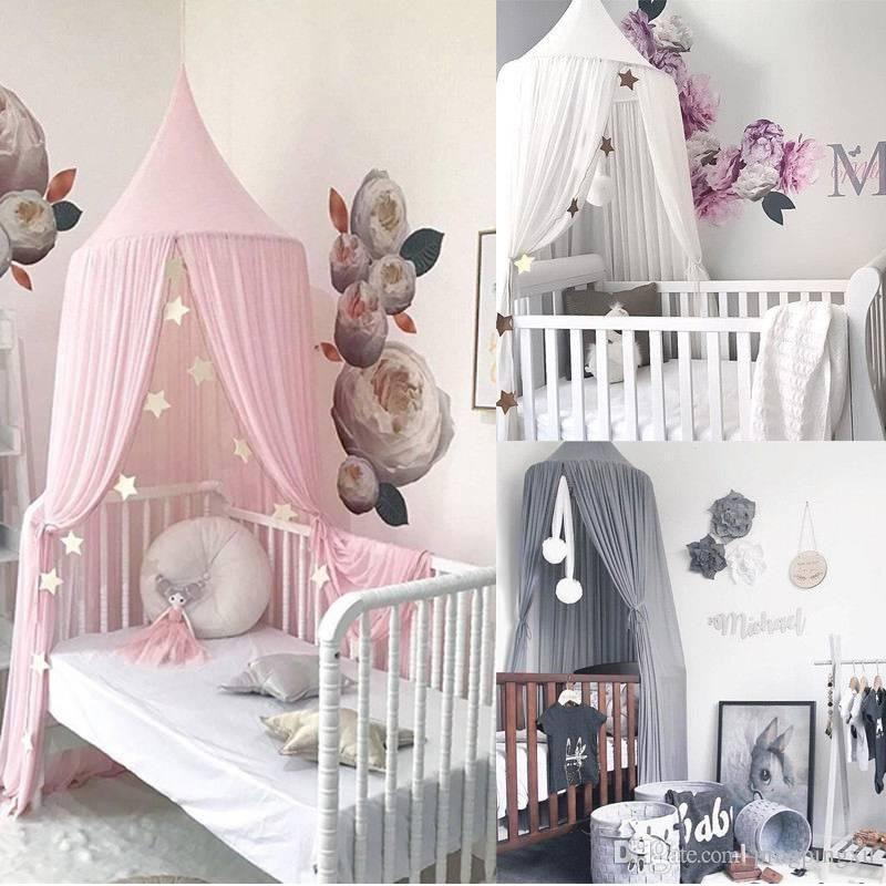 Moustiquaire Lit Enfant Inspiré Acheter Chaud Enfants Bébé Bedcover Lit Canopy Moustiquaire Tente