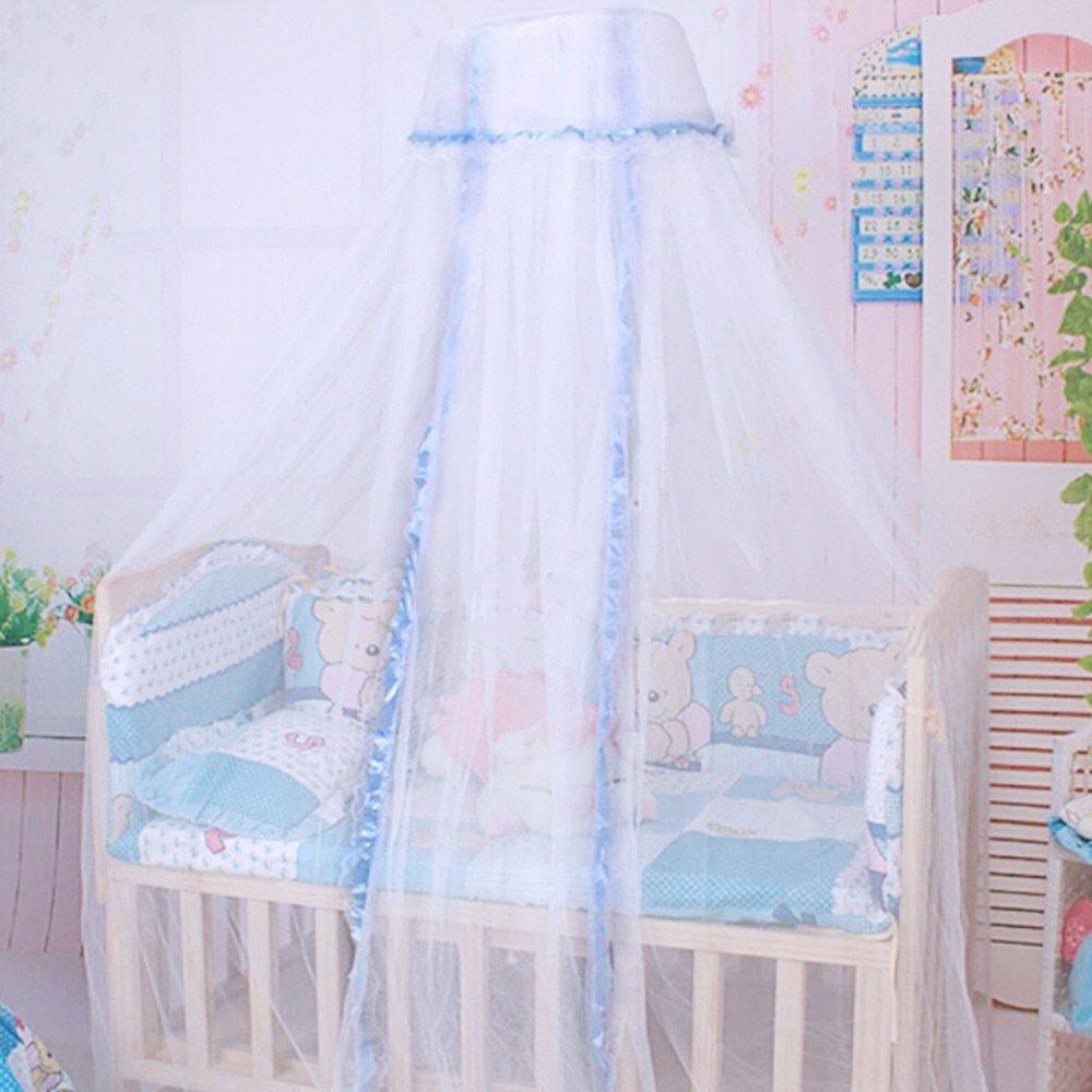 Moustiquaire Lit Enfant Inspiré Acheter D´me Rond Bébé Infantile Moustiquaire Lit € Baldaquin Lit