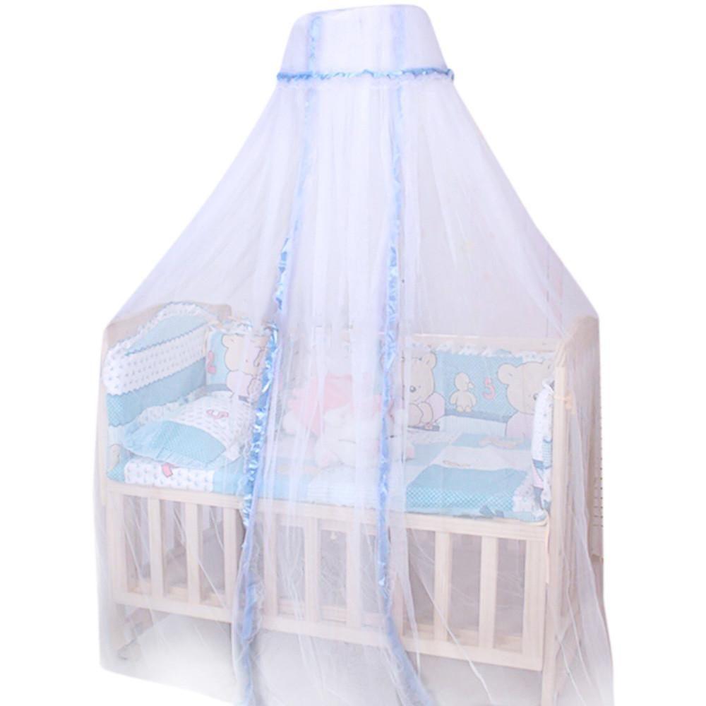 Moustiquaire Lit Enfant Unique Acheter D´me Rond Bébé Infantile Moustiquaire Lit € Baldaquin Lit
