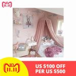Moustiquaire Lit Enfant Unique Style Nordique Enfants Décoration Coton D´me Moustique Princesse Net