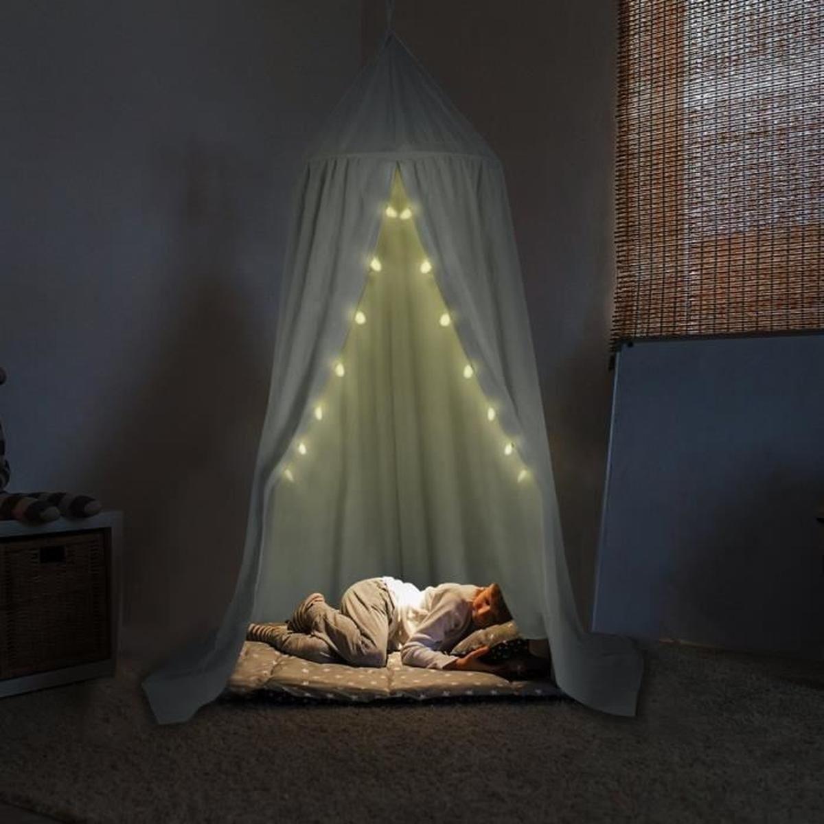 Moustiquaire Pour Lit Bébé Bel Ciel De Lit Baldaquin