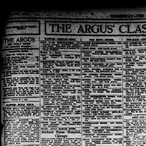 New Lita Tours Le Luxe The Rock Island Argus And Daily Union Rock Island Ill 1920 1923