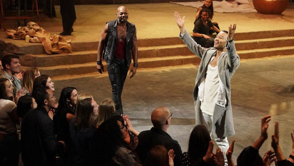 Orchestra tour De Lit Impressionnant Tv Review Jesus Christ Superstar Live In Concert On Nbc – Variety