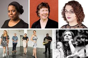 Orchestra tour De Lit Inspiré American Posers orchestra Honors Phenomenal Women at Carnegie Hall