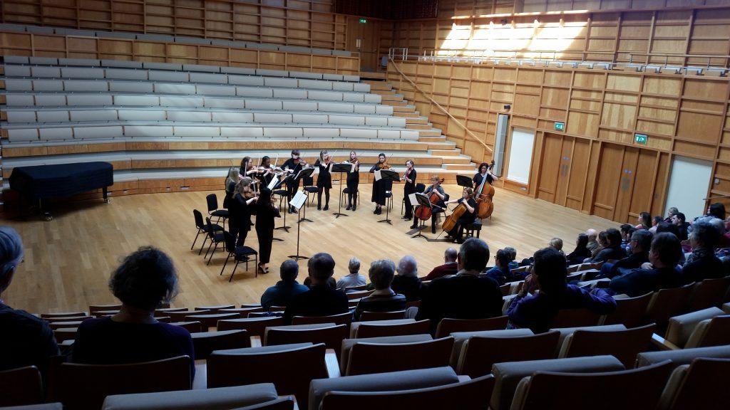Orchestra tour De Lit Inspiré String Sinfonia Music Matters