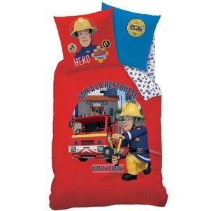 Parure De Lit 120×150 Génial Parure De Lit Sam Le Pompier En solde