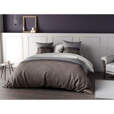 Parure de lit Percale B&W Tailles et déclinaisons Housse de