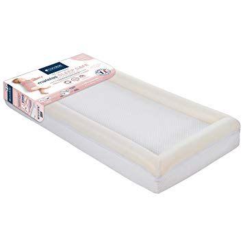 Parure De Lit Bebe 60x120 Frais Candide Sleep Safe Croissance Matelas Déhoussable Pour Lit 60 X 120