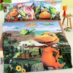 Parure De Lit Bebe Complete Impressionnant Parure De Lit Pour Enfants Train Des Dinosaures Vente En Ligne