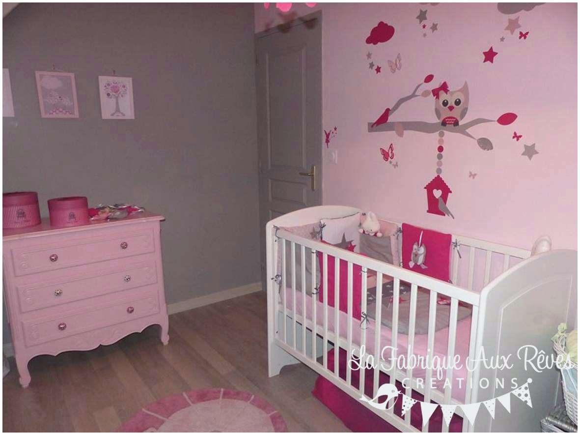 Parure De Lit Bébé Fille Le Luxe Elégant Chambre Bébé Fille Gris Et Rose Beau Parc B C3 A9b C3 A9