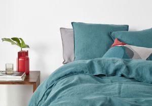 Housse De Couette Bleu Canard Génial Housse De Couette Bleu Canard