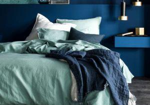 Parure De Lit Bleu Joli Housse De Couette Bleu Canard Génial 55 Frais De Linge De Lit Bleu