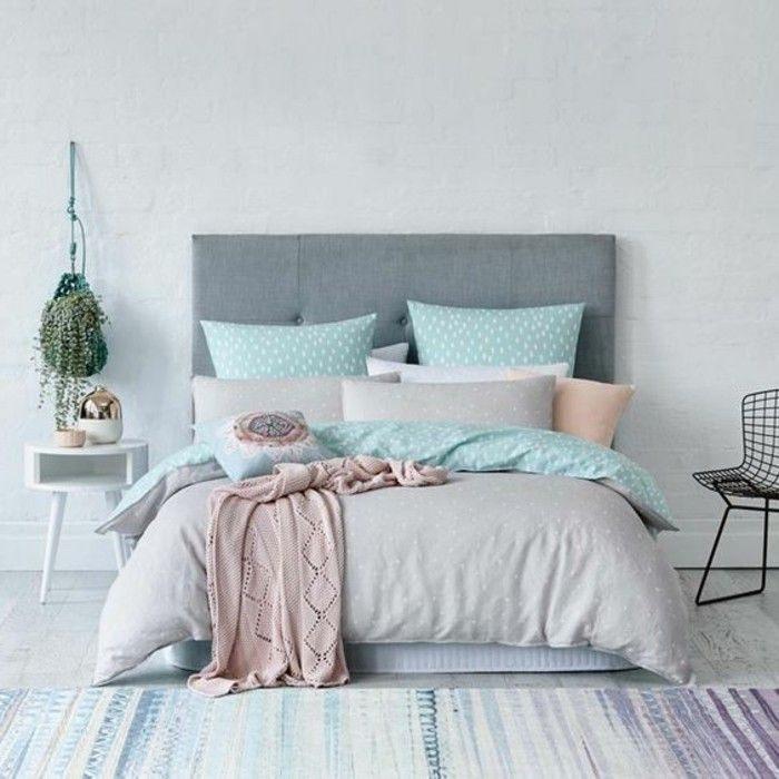 Parure De Lit Bleu Marine Beau Idées Chambre  Coucher Design En 54 Images Sur Archzine