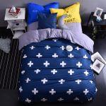 Parure De Lit Bleu Marine De Luxe 42 Beau S De Parure De Lit Bleu Canard