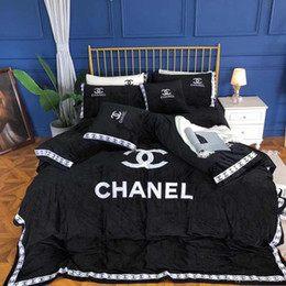 Parure De Lit Chanel Joli Achat En Gros De Ensembles De Literie Dans Fournitures De Literie