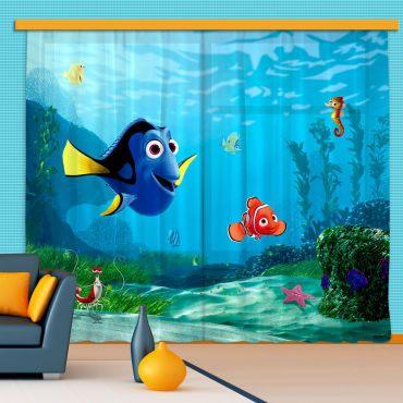 Parure De Lit Disney Adulte Bel Rideaux Némo Dory & Marin Disney Standard 280×245 Cm Vente De