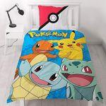 Parure De Lit Dragon Ball Z Élégant Pokemon Generation Bed Linen Cotton 140 60x70 Cm Amazon