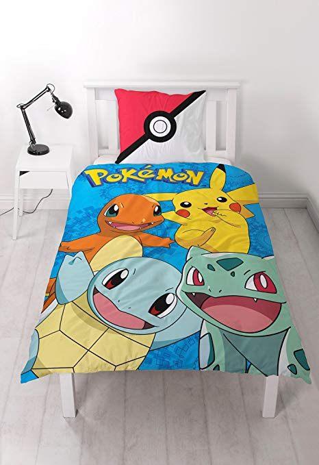 Parure De Lit Dragon Ball Z Élégant Pokemon Generation Bed Linen Cotton 140 60×70 Cm Amazon