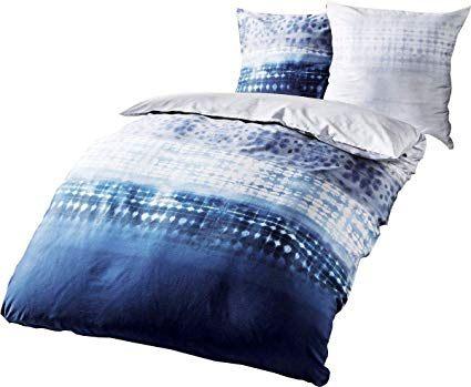 Parure De Lit En Flanelle Belle Kaeppel Parure De Lit En Flanelle 240 X 220 Cm Embrace Bleu Indigo
